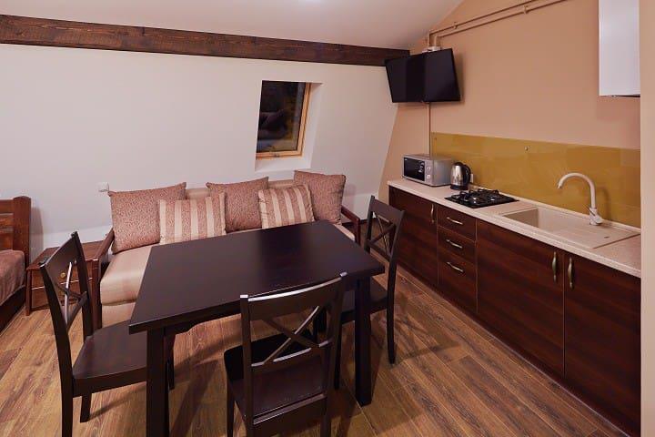 Апартаменти студіо для 4 гостей - Lviv - Apartamento