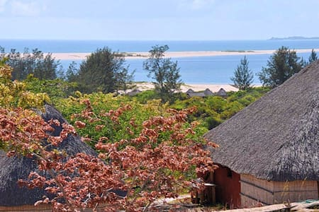 Amazing beach chalet at Pomene Mozambique