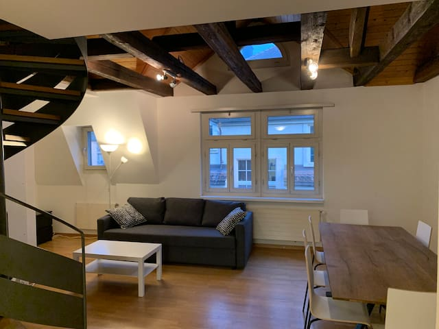 City center / Hottingen - 4.5 rooms, 3 BR, 110 sqm