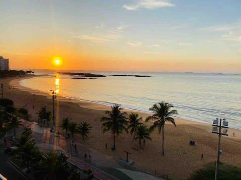 Vista total para o Mar - Praia da Costa