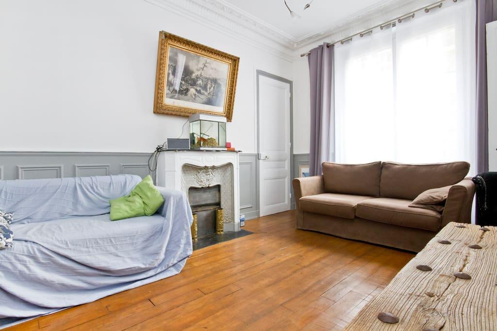 Chambre priv e paris appartements louer paris idf for Louer chambre paris