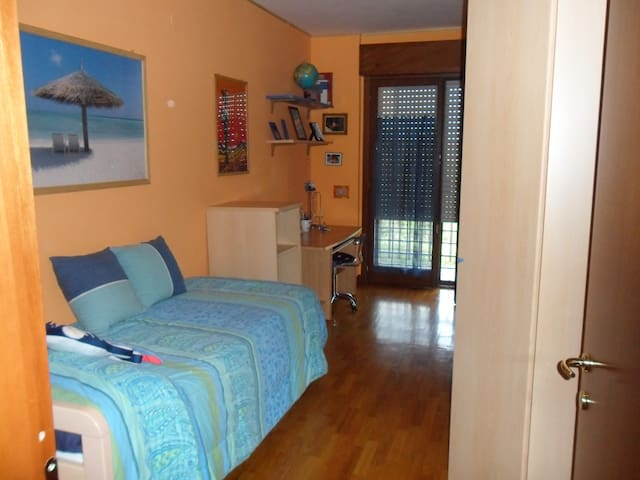 Single-room near the Rome Airport  - Rome - Appartement