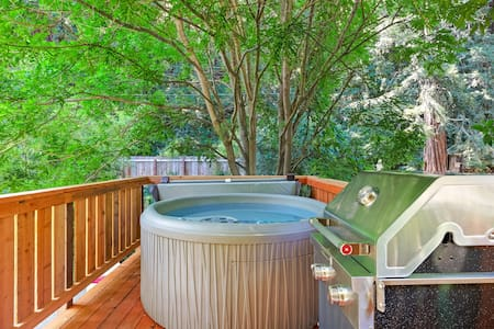 Updated 1930's Grand River House, modern amenities, private hot tub, near river!