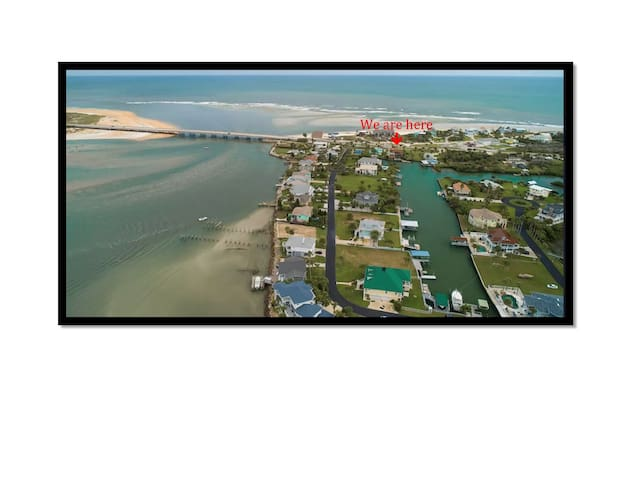 Summer Haven-Island retreat @ the Matanzas Inlet