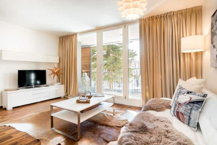 Little Reuss , cosy apartment in central position