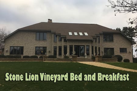 Stone Lion Vineyard Bed and Breakfast - Isanti - Bed & Breakfast
