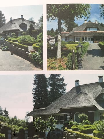 Luxe familie landhuis in kerststijl veel privacy