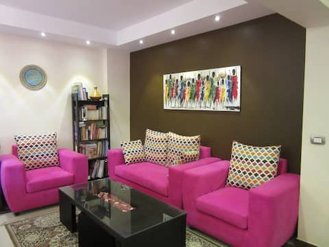 Family cozy apartment - New maadi
