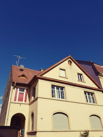"""Studio """"Bienvenue"""" proche centre de Strasbourg - Schiltigheim - Flat"""