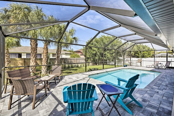 NEW! Modern Oasis w/ BBQ, 5 Mi to Yacht Club Beach