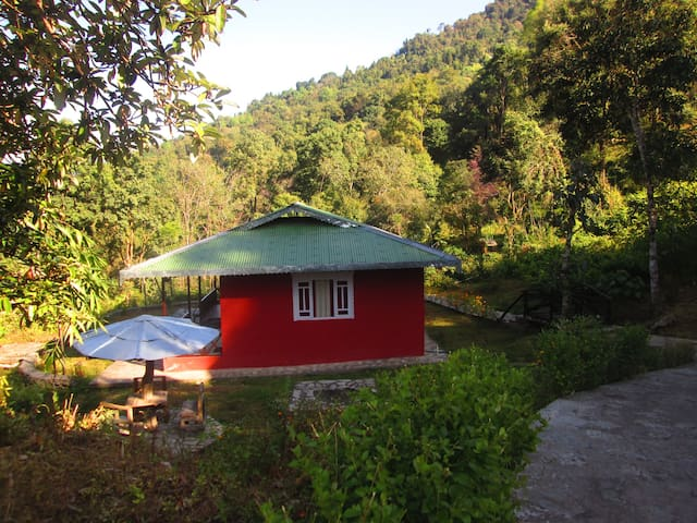 Two Cottages at Lamthang Resort - West Sikkim - Huis