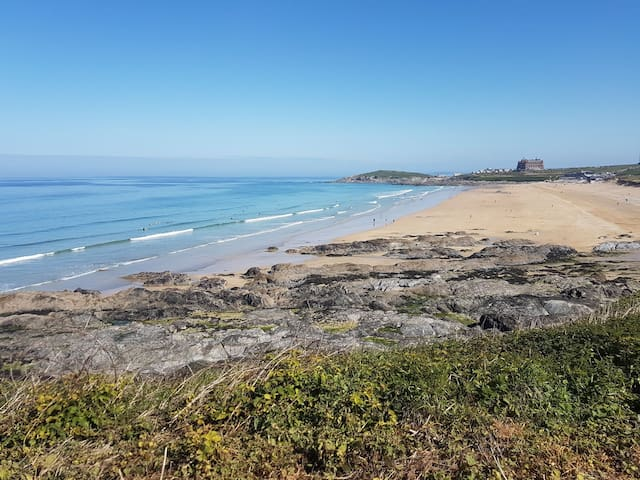 Family Home by the sea, dogs welcome - Newquay - Casa