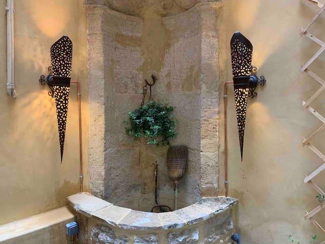 La fontaine du patio