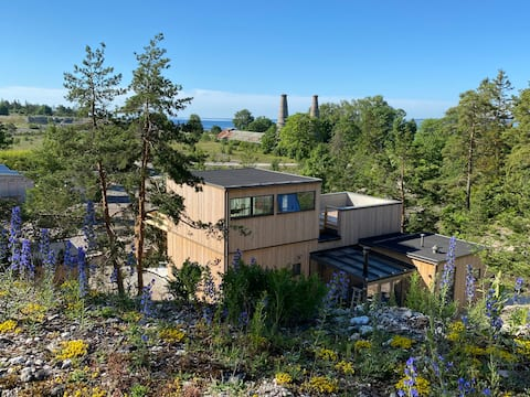Exclusive holiday home on Bungenäs, Gotland