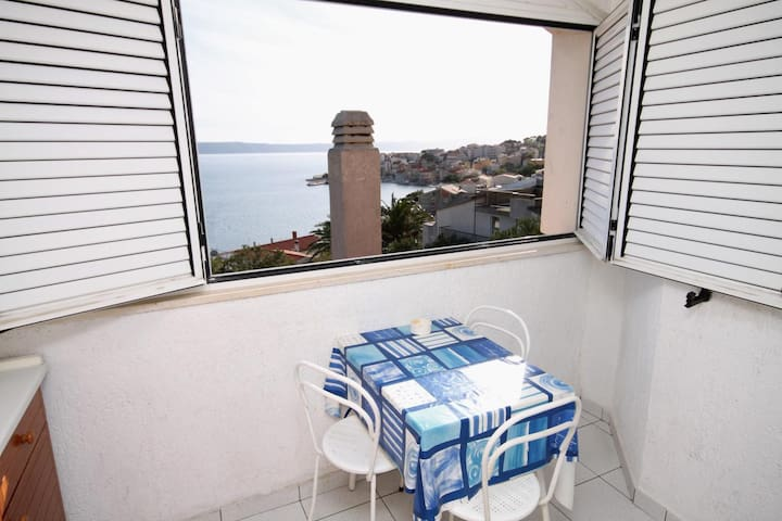 Studio flat with air-conditioning Igrane, Makarska (AS-5266-a)