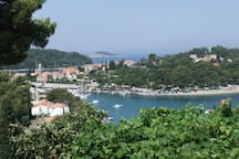 Tiha Bay-view from building location