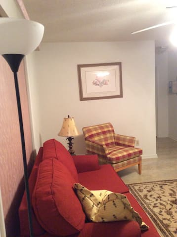 Quaint one-bedroom Master's rental - Hephzibah - Lejlighed