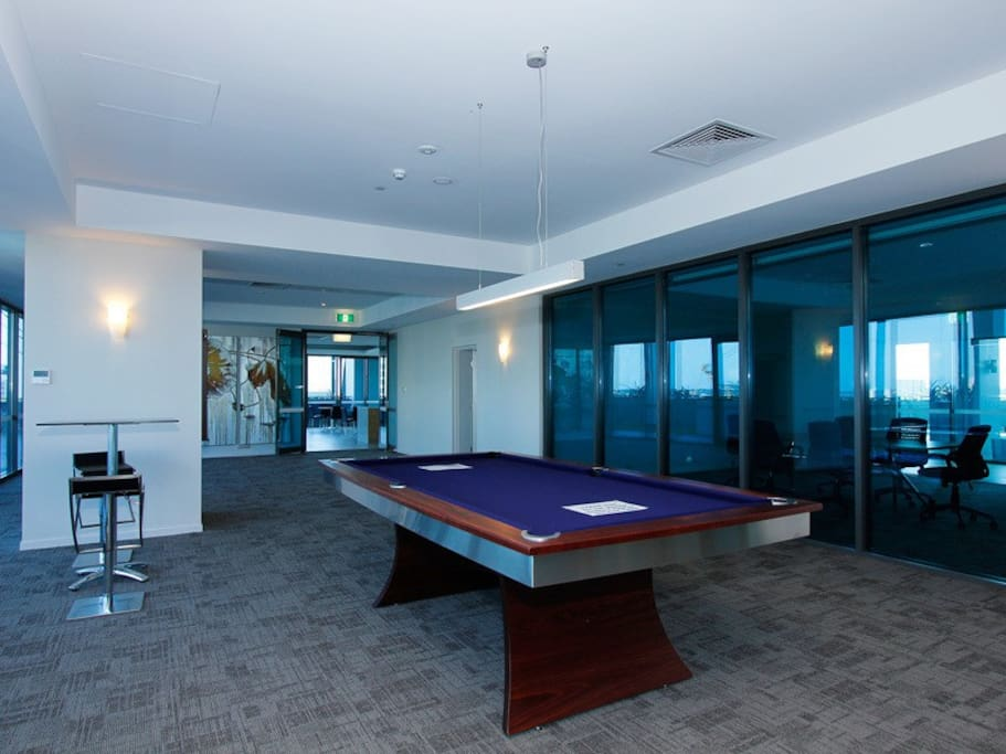 Games room Pool table and Table tennis Available