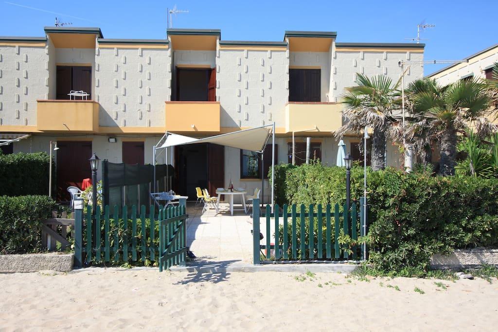 Una vera casa sul mare cottage in affitto a porto for Piani casa cottage sulla spiaggia