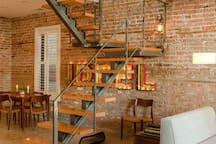 Upstairs, your room awaits.