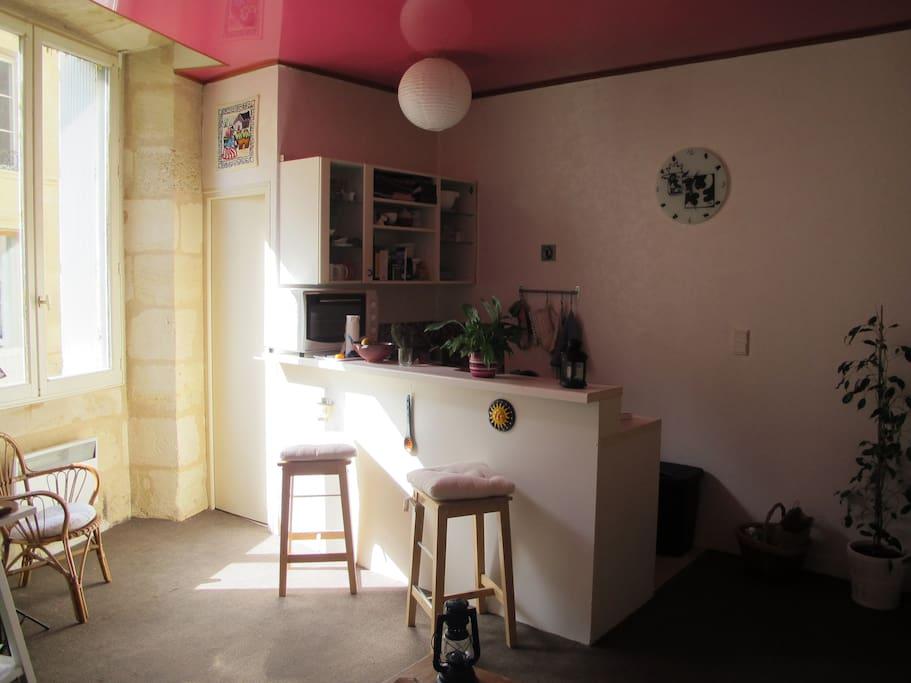 Charmant t2 bordeaux plein centre appartements louer for Appartement a louer bordeaux centre t2