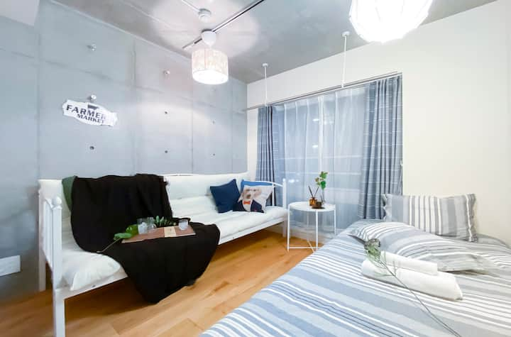 #203 New open! Shinjuku 4 mins, Cozy apt 1BR!