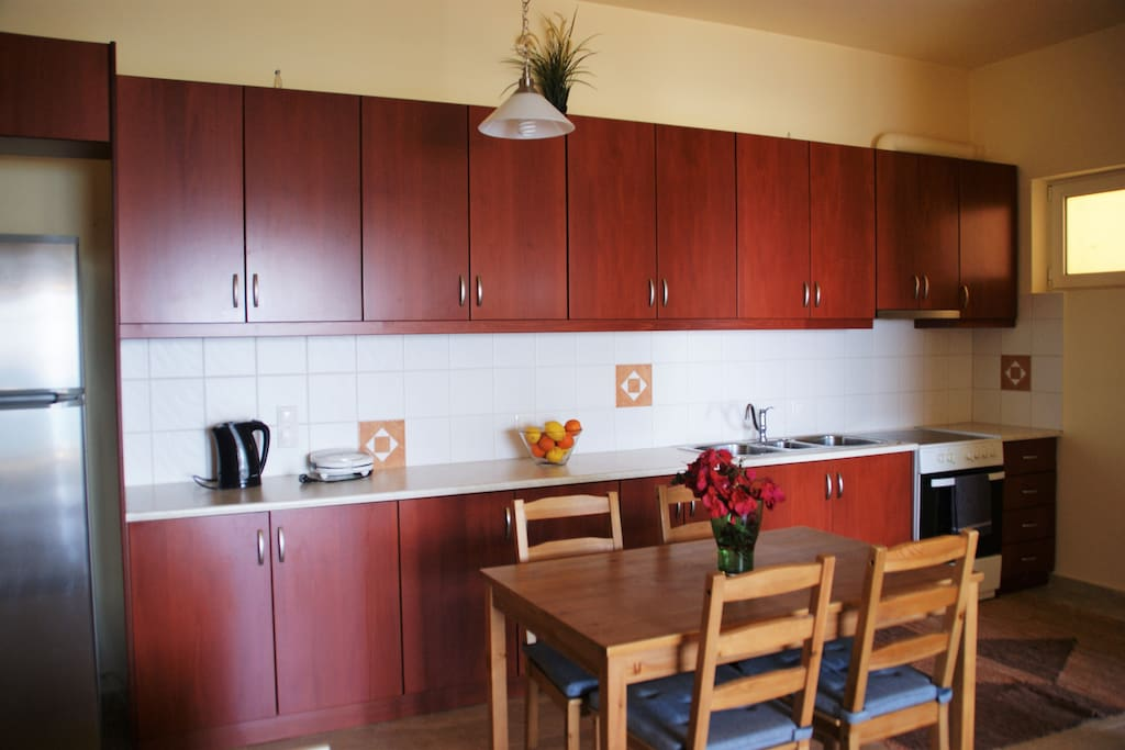 Spacious and useful kitchen