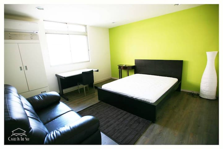 5 min to MRT big new double room 1 - Taipei, Taiwan - Apartment