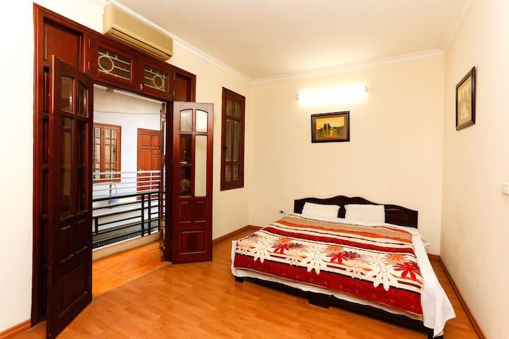 Chambre Printemps, 20m2 avec balcon