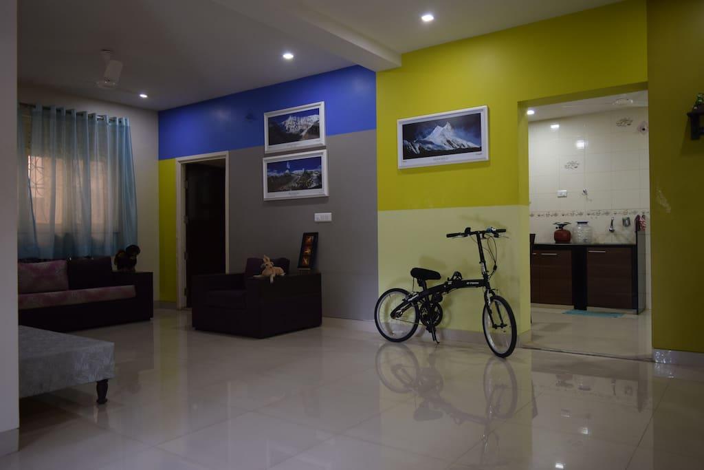 Common space on ground floor