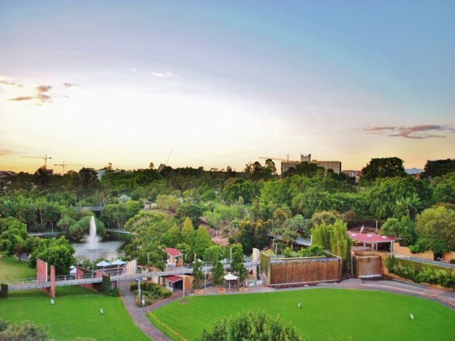 View of Parklands from Balcony 1