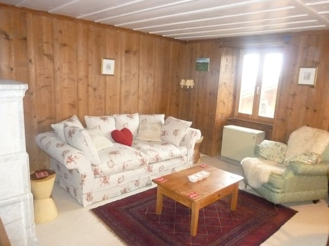 2 bed chalet in le chable verbier maisons louer for Chambre a louer verbier