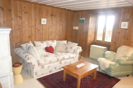 2 bed chalet in le chable (verbier) - Bagnes - Huis