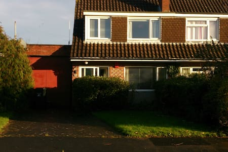 Private double room in lovely house - Bridgwater - Ev