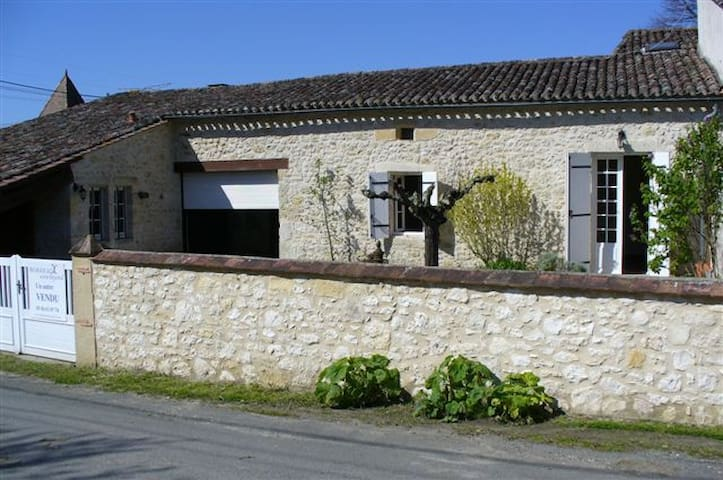 Converted French Barn in winelands - Eynesse - Dům
