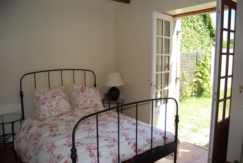 Further bedroom with own private garden