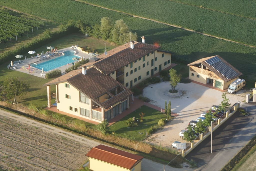 Vista aerea de Il Milione Country House