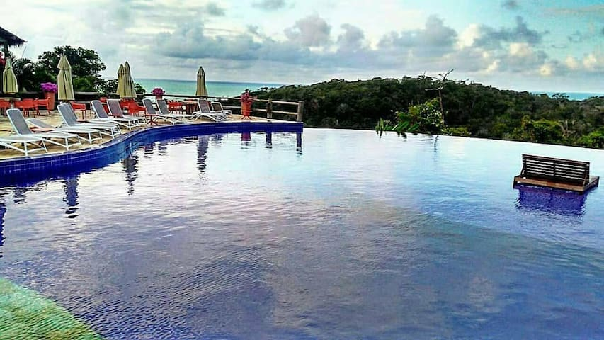 Apto em Chalé no Resort do Villas do Pratagy.
