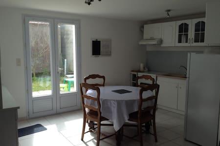 maison vacances récente 2km mer - Saint-Hilaire-de-Riez - Şehir evi