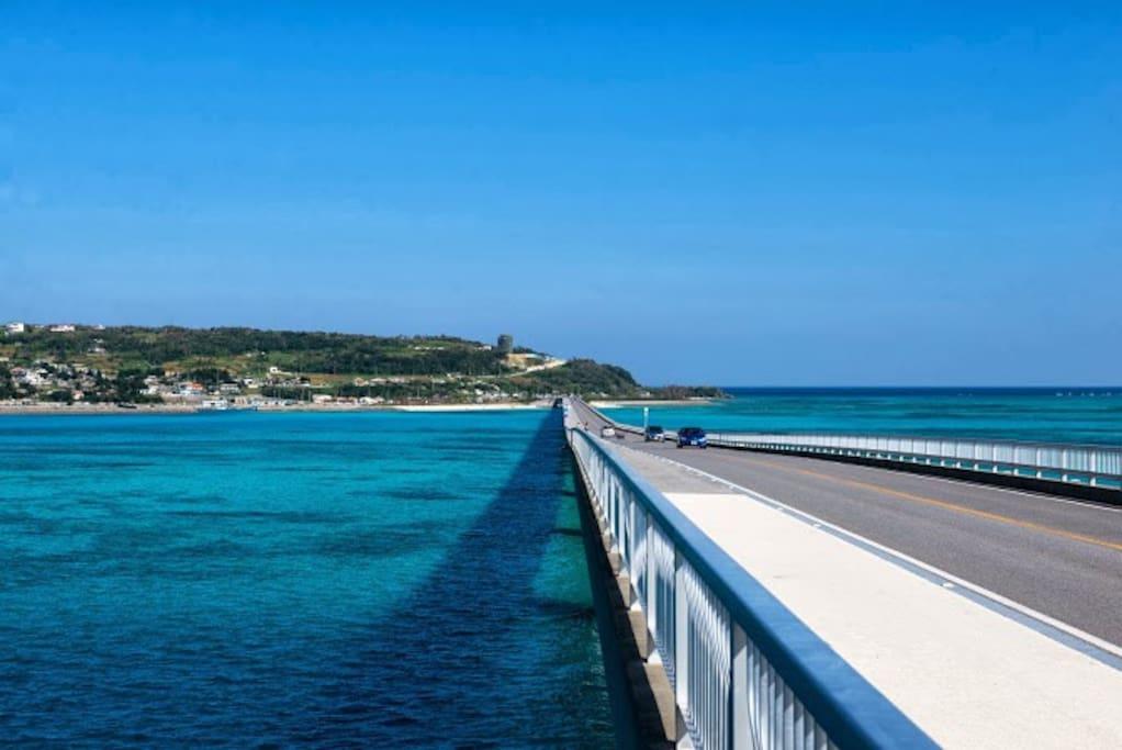 Famous place Kouri island