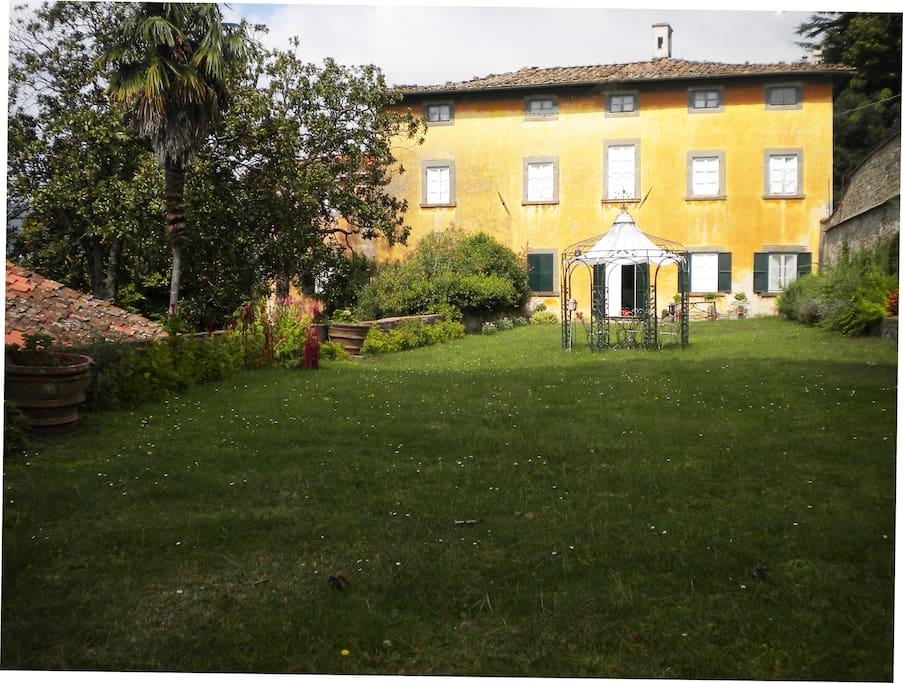 Palazzo vista esterno
