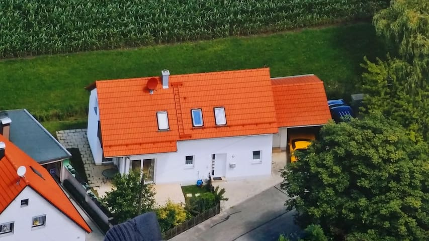 Single family home close to Munich and ICM - Wörth - Huis