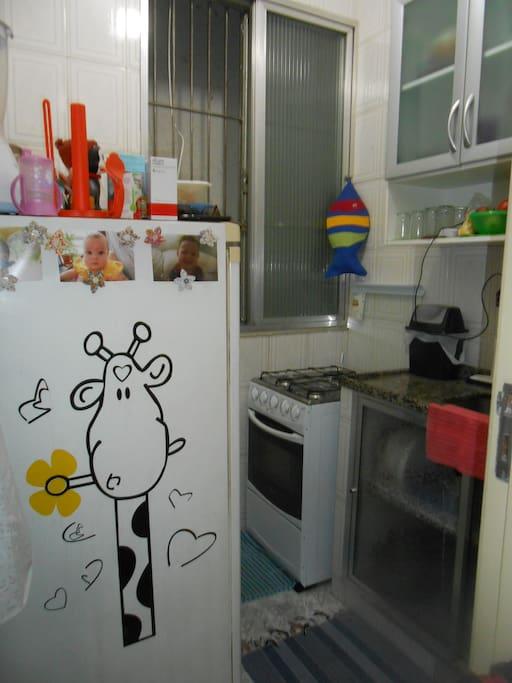 Cozinha: pequena mas jeitosinha!