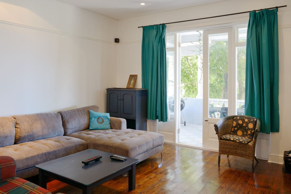Spacious & comfortable sun-filled lounge.