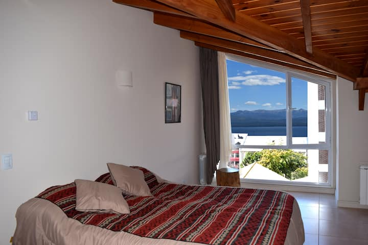 Studio apart /w lake view Bariloche