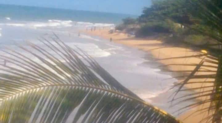 Suíte para casal na praia rasa em Ponta da Fruta