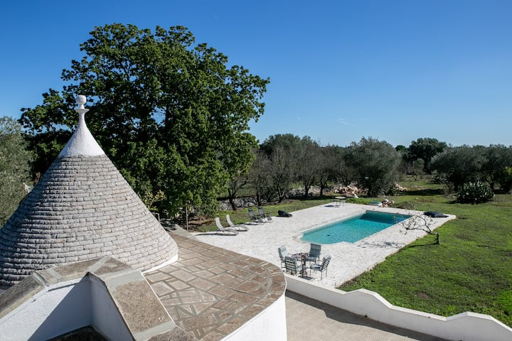 Escape to Tranquility in Luxury Trullo Villa