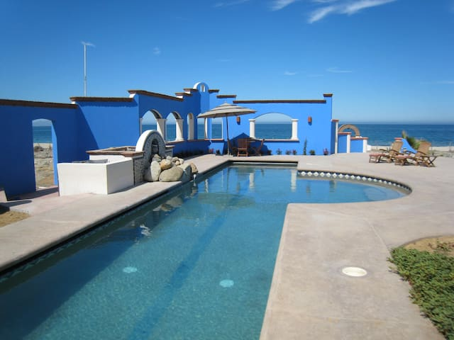 Baja Beach house w/ 75 ft lap Pool