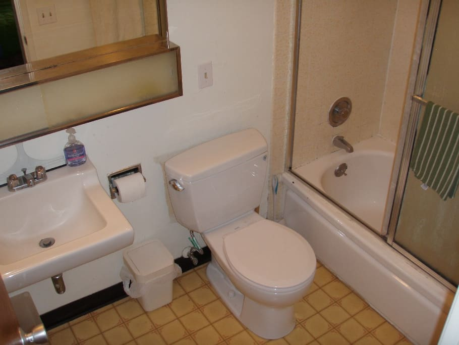 private bathroom for you