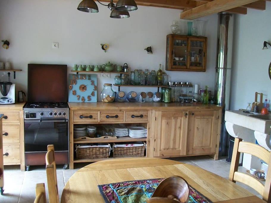 Chalet bio annonce 2 1 2 pers earth houses for rent for Salon bio nimes